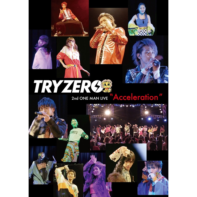 LIVE DVD「2nd ONE MAN LIVE ~Acceleration~」イメージ